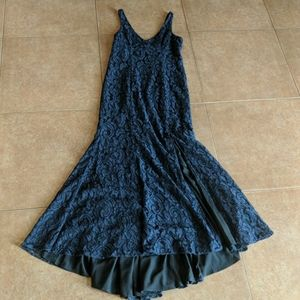 BCBGeneration NWT Gown Lace Overlay Mermaid 10